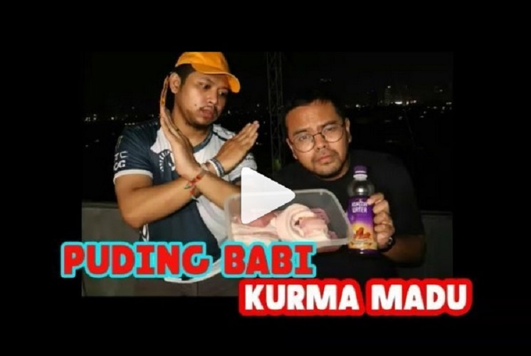 video puding babi kurma