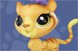LPS Tabby Cat Figures