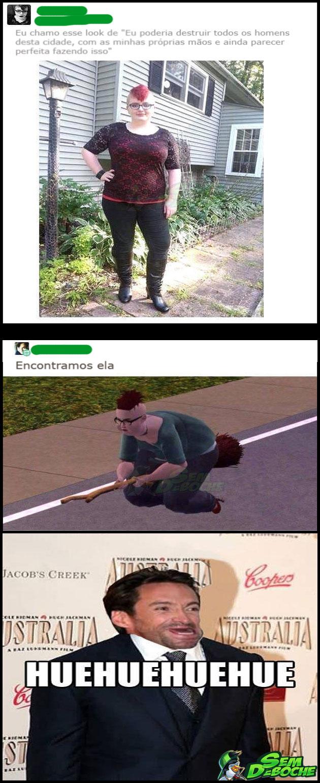 LOOK PRA DESTRUIR TODOS OS HOMENS DA CIDADE