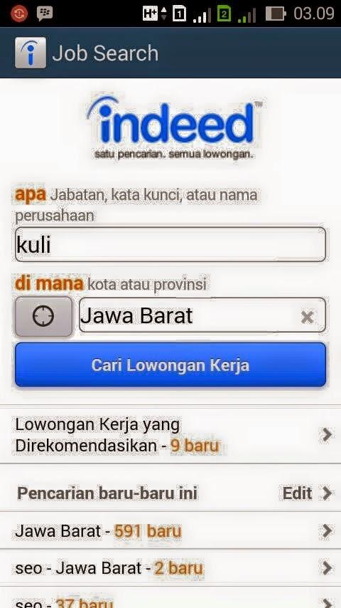 aplikasi android pencari lowongan kerja