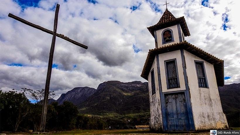 Capela de Santa Quitéria - O que fazer em Catas Altas, Minas Gerais