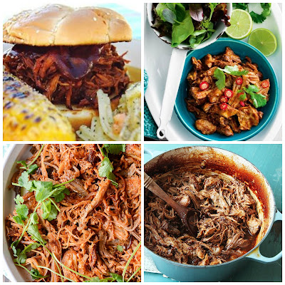 image pulled pork recipe slow cooker baked oven