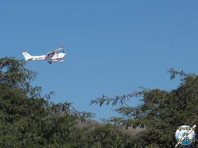 Avión para sobrevolar nazca