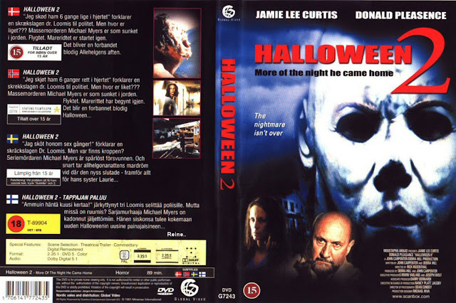 swedish dvd cover - Halloween 2 1981 Full Movie