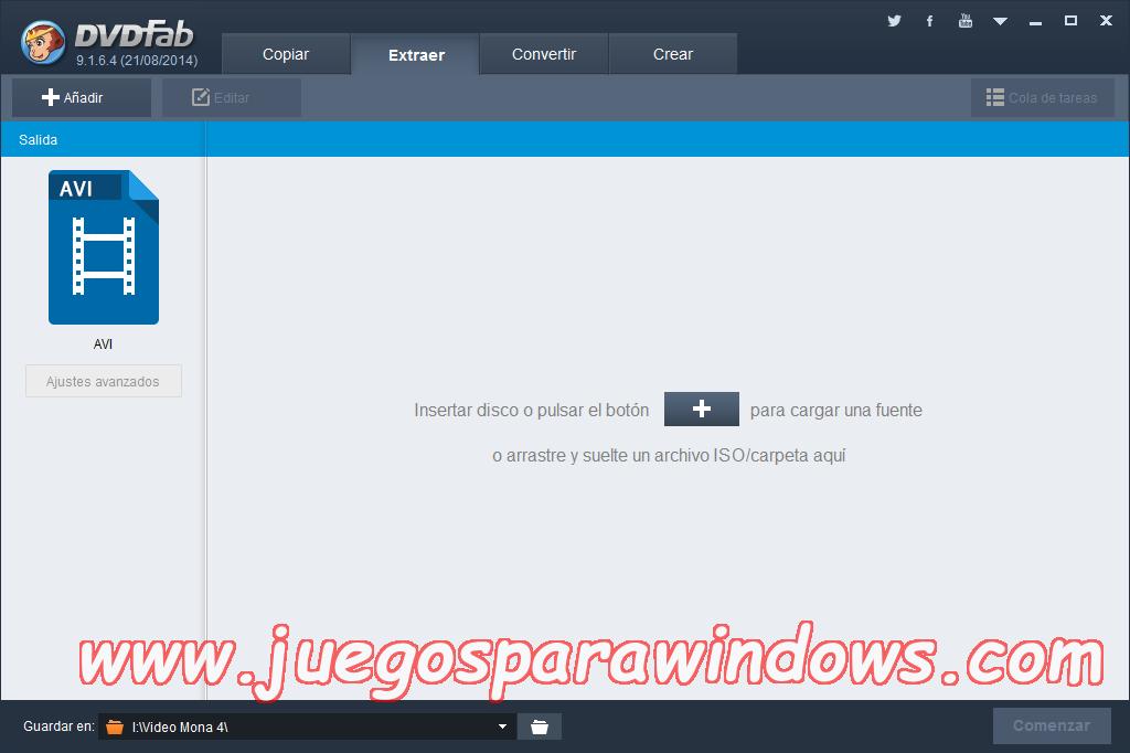 DVDFab v9.3.0.4 Full PC ESPAÑOL Descargar 4