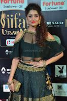 Ritika Singh in a Ethnic Deep Neck Dark Green Choli Ghagra at IIFA Utsavam Awards March 2017 ~ 012.JPG