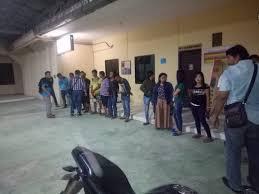 Lima pasang pasangan yang bukan suami isteri saat diamankan ke Mako Polres Tanjungbalai, Sabtu (26/8) malam.