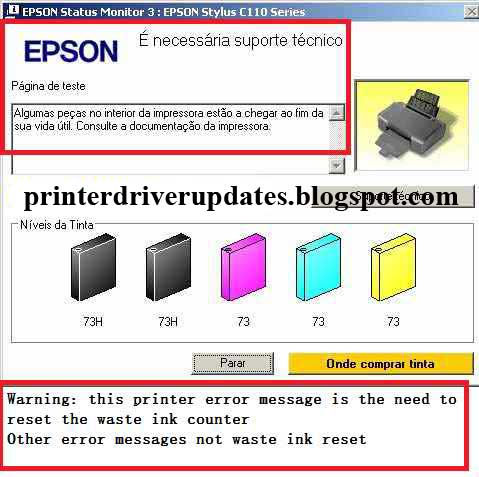 Epson L130 Resetter Adjustment Program Free Download - Printer