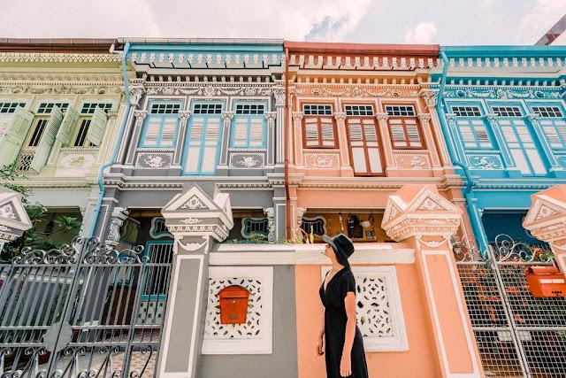 Sống ảo cực chất tại dãy nhà Peranakan