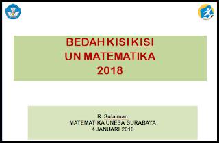 BEDAH SKL UN SURABAYA 2018