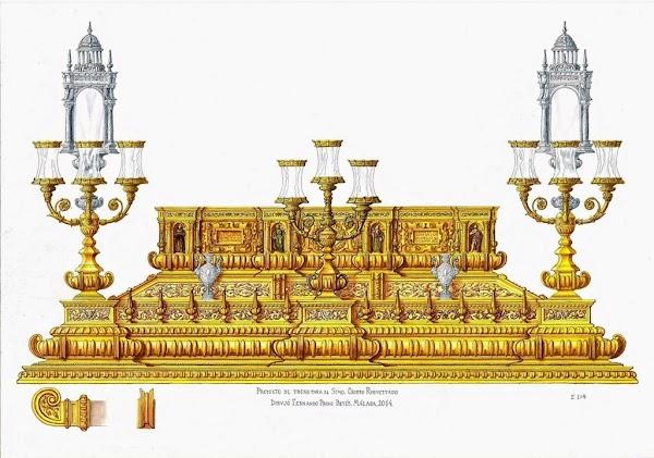 La Presentacion del nuevo trono del Resucitado de Málaga ya tiene fecha