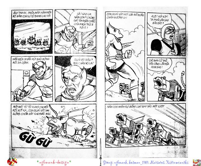 Dũng Sĩ Hesman tập 2 - hesman xuất hiện trang 27
