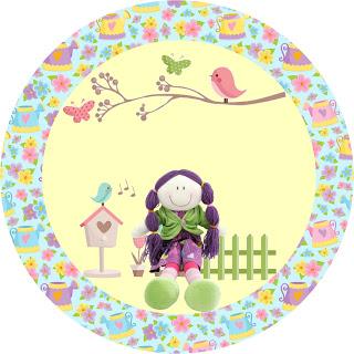 Bez Bebek, KIZ, Kız Çocukları İçin Ücretsiz Parti Setleri Yükle, kuş temalı parti seti, Bez Bebek Temalı Parti Seti, Parti Malzemeleri, Doğu Günü Süsleri, Temalı Doğum Günü Setleri,