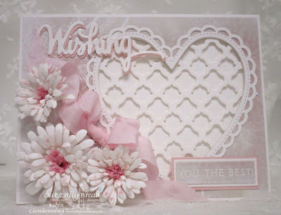 Our Daily Bread Designs, Wishing, Wishing Words, Asters, Ornate Hearts, Boho Background, Rectangles, Shabby Rose Collection, By Robin Clendenning