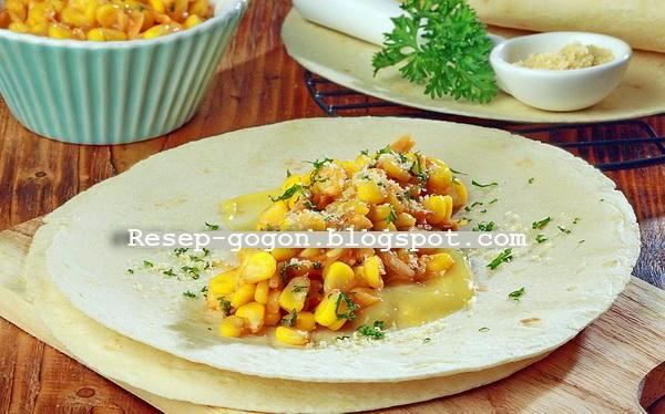 Resep Tortilla Isi Jagung