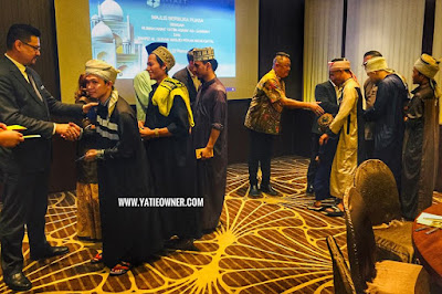 Majlis Berbuka Puasa Bersama Anak Yatim Asnaf As-Sakinah dan Tahfiz Al-Quran Masjid Pekan Menggatal di Hyatt Regency Kinabalu