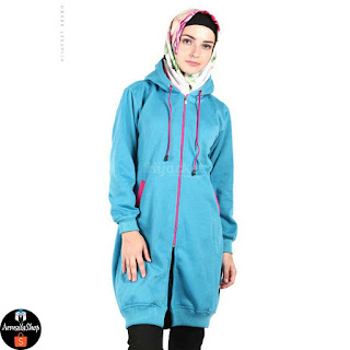 HJ19 Hijacket BASIC Turkish x Pink JAKET HIJAB JAKET MUSLIMAH ORIGINAL PREMIUM FLEECE