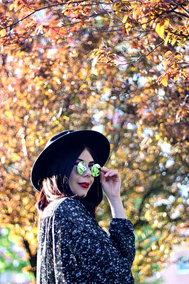 okulary lenonki stylizacja inspiracja blog