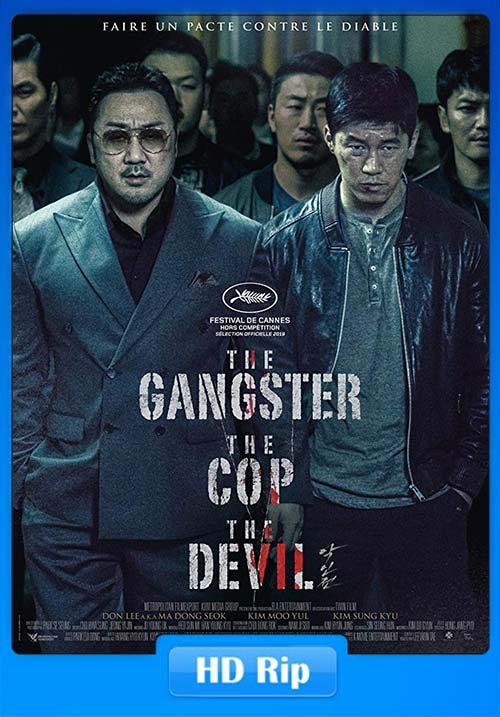 The Gangster The Cop The Devil 2019 720p HDRip x264 | 480p 300MB | 100MB HEVC Poster