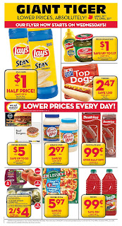 Giant Tiger Lower Prices April 19 to 25