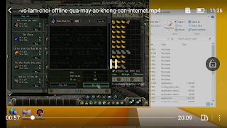 Hướng dẫn cài Võ Lâm Truyền Kỳ chơi Offline qua máy ảo