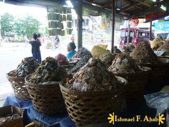 Dried Danggit in Taboan Market in Cebu City