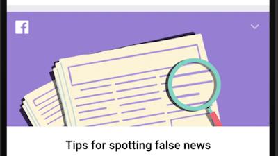 """فيس بوك تنشر 10 نصائح لاكتشاف """"الأخبار الكاذبة"""""""
