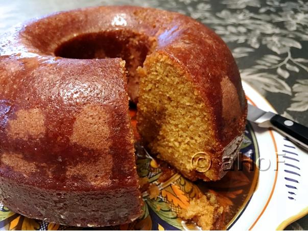 Sweet Potato Cornmeal Cake