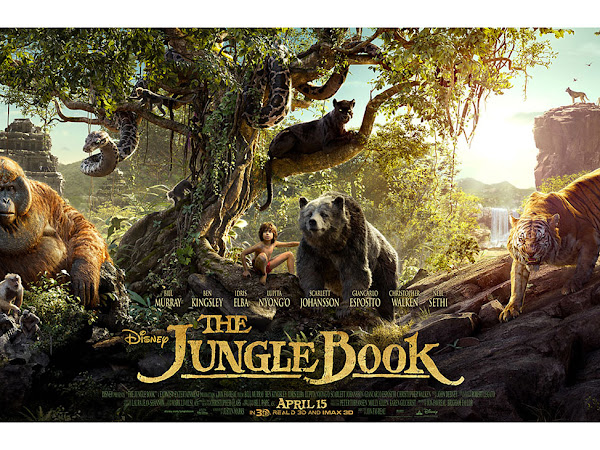 Movie Review : The Jungle Book 2016  - Macam tak best je