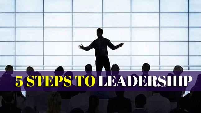 5 Langkah jadi Seorang Leadership