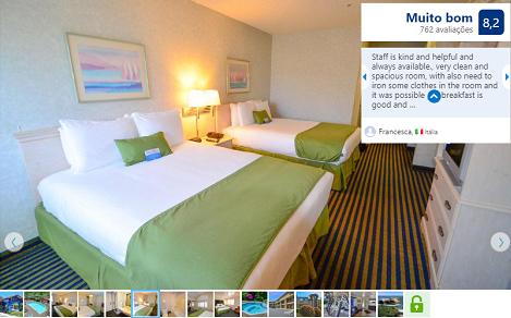 Hotel Ocean Pacific Lodge para ficar em Santa Cruz