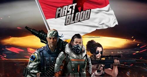 Orang Bule Main Game First Blood Indonesia