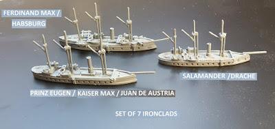 Austrian Ironclads