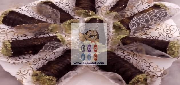 حلوى السيقار بالشوكولاطة