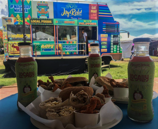 Filipino Favorite Dishes at Joy Ride Food Truck by NutriAsia