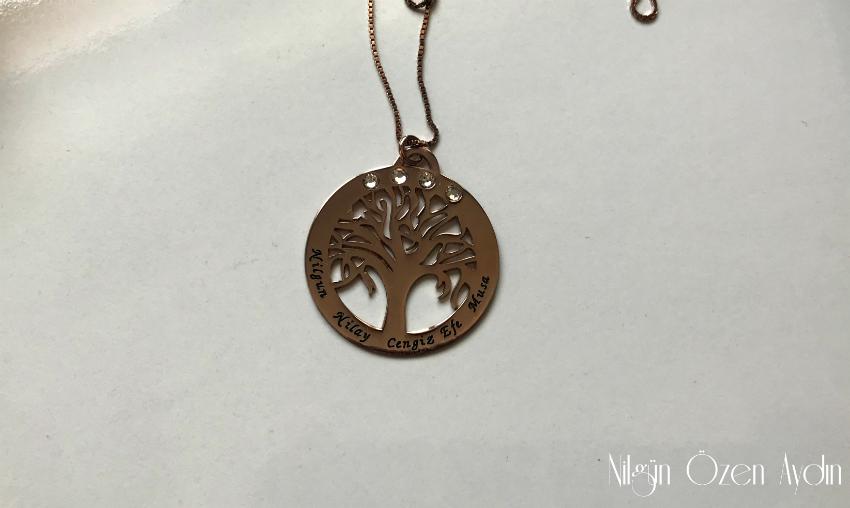 alışveriş-Aile Ağacı Kolye-ONecklace-925 ayar gümüş