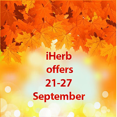 iHerb offers 21-27 September
