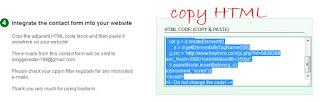 Cara Mudah Membuat Contact us Diblog