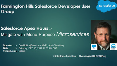 http://amitsalesforce.blogspot.com/2017/12/MicroservicesSalesforce.html