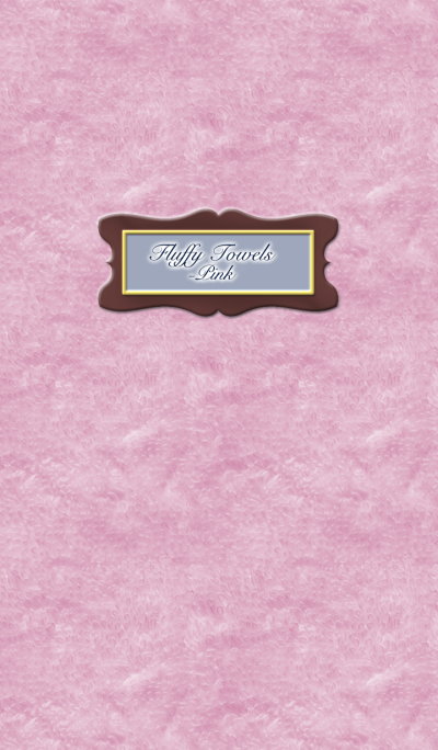 Fluffy Towels -Pink