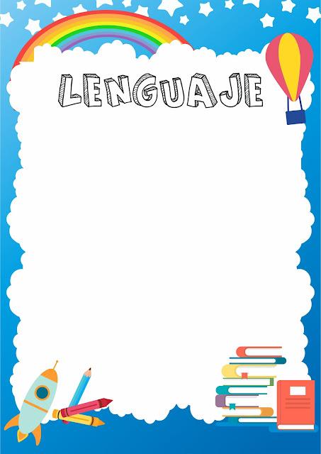 Caratulas de lenguaje secundaria