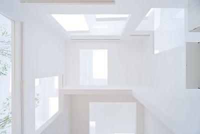 Casa N. Sou Fujimoto. Vista del Interior.