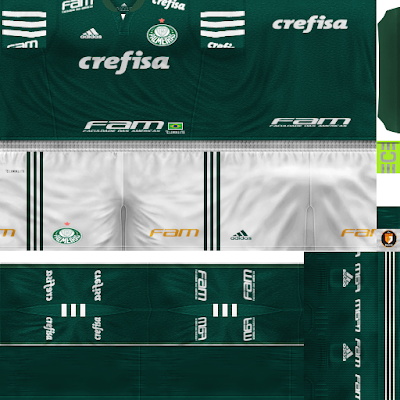 PES 6 Kits SE Palmeiras Season 2018/2019 by WindowOp Kitmaker