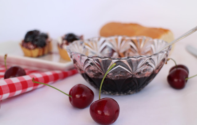 mermelada-de-cerezas, cherry-jam