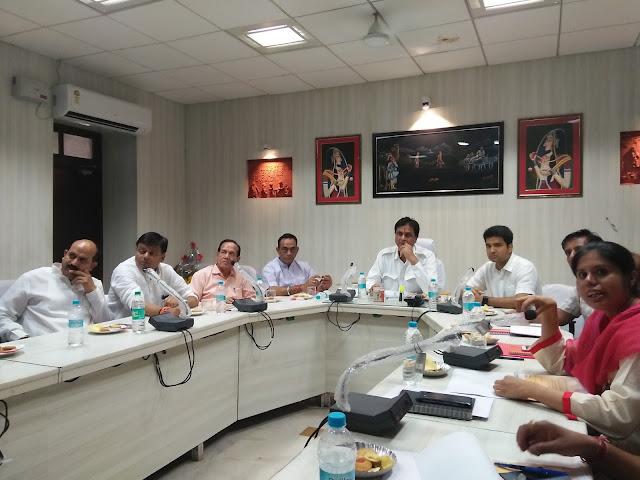 Ajmer, Rajasthan, udh minister, shri chand kripalani, meeting, rajasthan news
