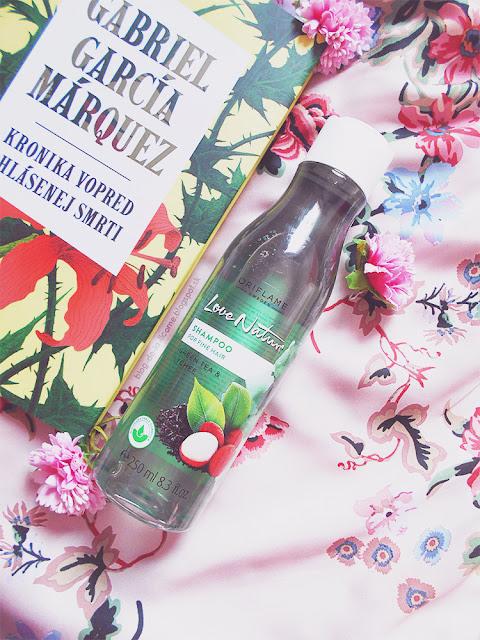 Šampón na jemné vlasy so zeleným čajom a liči Love Nature recenzia