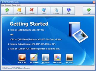 PDF To JPG Converter 3.3 Full Version