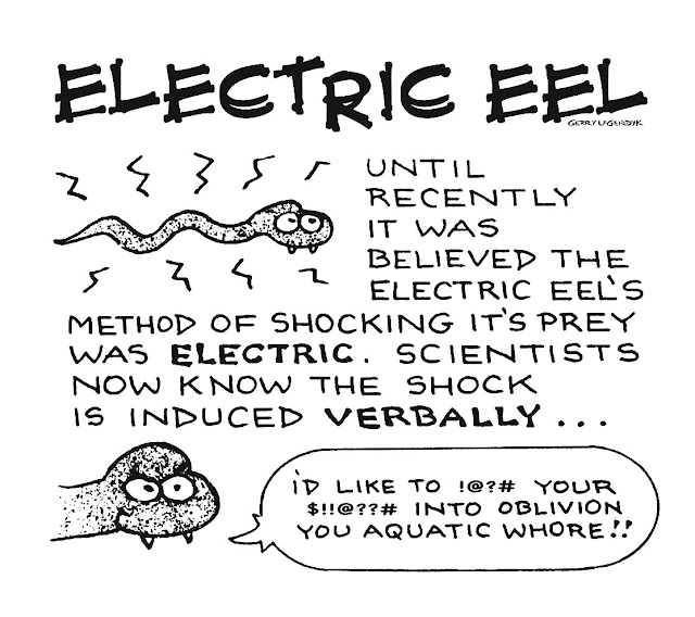 electric eel cartoon