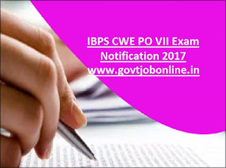 IBPS CWE PO, MT VII 2017 Exam Dates Eligibility Criteria-Probationary Officers, Management Trainee Recruitment Prelims, Mains Exam