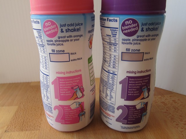 Frozen Friday Dole Smoothie Shakers Brand Eating